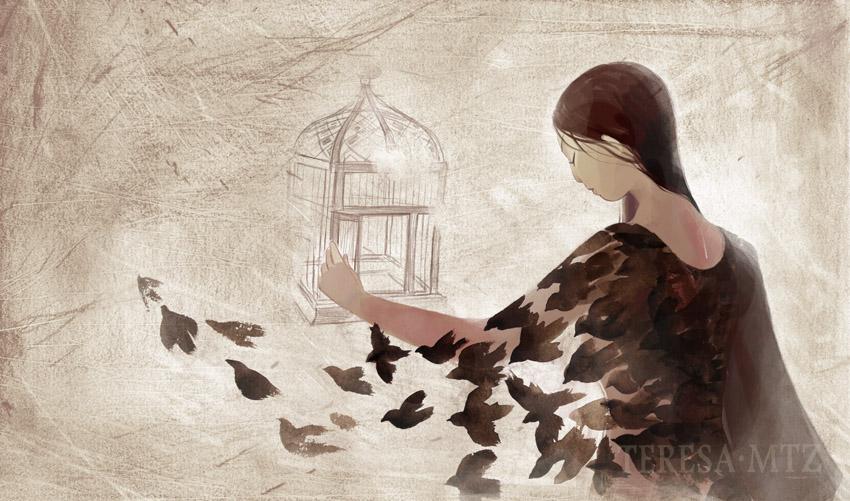 Abres la jaula by Teresa-mtz